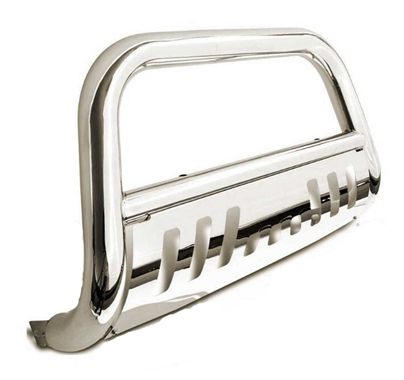 SS-Chrome-Bull-Bar-Push-Bumper-Grill-Grille-Guard-FIT-14-16-Che